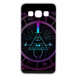 Чохол для Samsung A3 2015 Neon Bill Cipher - FatLine