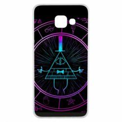 Чохол для Samsung A3 2016 Neon Bill Cipher - FatLine