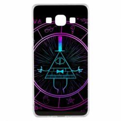 Чохол для Samsung A5 2015 Neon Bill Cipher - FatLine