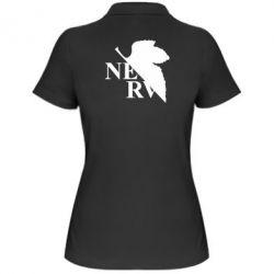 Жіноча футболка поло Нерв
