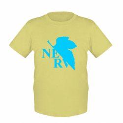 Дитяча футболка Нерв