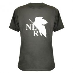 Камуфляжна футболка Нерв