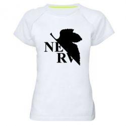 Жіноча спортивна футболка Нерв