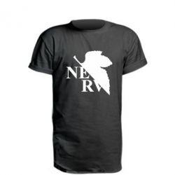 Подовжена футболка Нерв