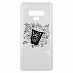 Чохол для Samsung Note 9 Нема кави - нема роботи