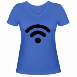 Жіноча футболка з V-подібним вирізом Net