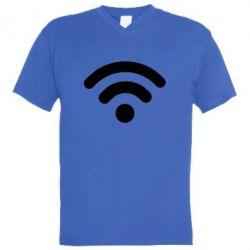 Чоловіча футболка з V-подібним вирізом Net