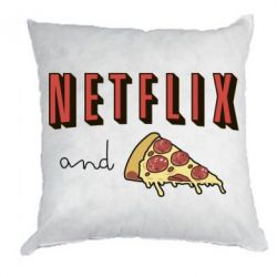 Подушка Netflix and pizza