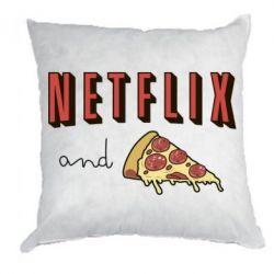 Подушка Netflix and pizza