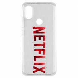 Чехол для Xiaomi Mi A2 Netflix logo text