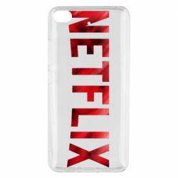 Чехол для Xiaomi Mi 5s Netflix logo text
