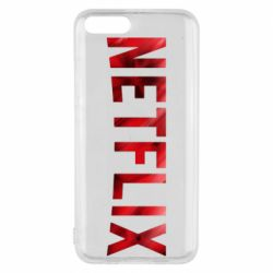 Чехол для Xiaomi Mi6 Netflix logo text