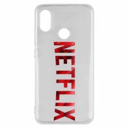 Чехол для Xiaomi Mi8 Netflix logo text