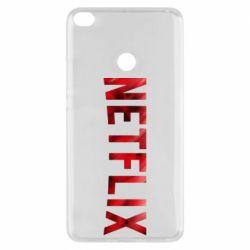 Чехол для Xiaomi Mi Max 2 Netflix logo text