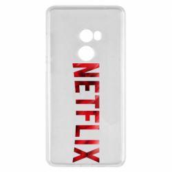 Чехол для Xiaomi Mi Mix 2 Netflix logo text