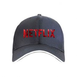 Кепка Netflix logo text