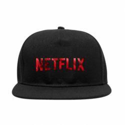 Снепбек Netflix logo text