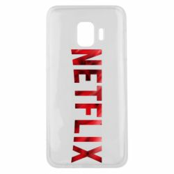 Чехол для Samsung J2 Core Netflix logo text