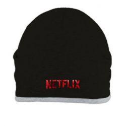 Шапка Netflix logo text