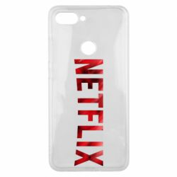 Чехол для Xiaomi Mi8 Lite Netflix logo text