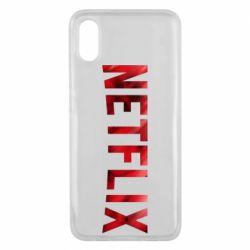 Чехол для Xiaomi Mi8 Pro Netflix logo text