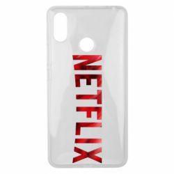 Чехол для Xiaomi Mi Max 3 Netflix logo text