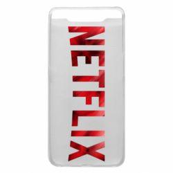 Чехол для Samsung A80 Netflix logo text