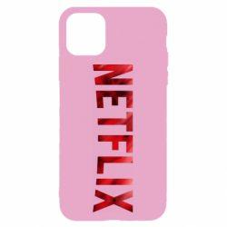 Чехол для iPhone 11 Netflix logo text