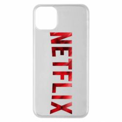 Чехол для iPhone 11 Pro Max Netflix logo text