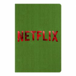 Блокнот А5 Netflix logo text