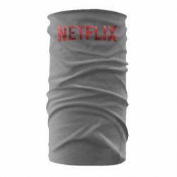 Бандана-труба Netflix logo text