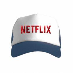 Детская кепка-тракер Netflix logo text