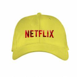 Детская кепка Netflix logo text