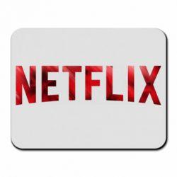 Коврик для мыши Netflix logo text