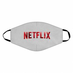 Маска для лица Netflix logo text