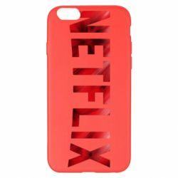 Чехол для iPhone 6 Plus/6S Plus Netflix logo text