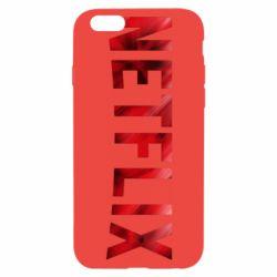 Чехол для iPhone 6/6S Netflix logo text