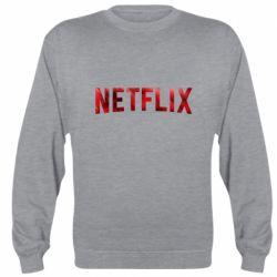 Реглан (свитшот) Netflix logo text