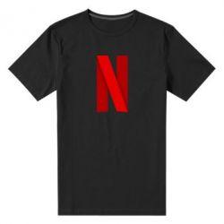 Мужская стрейчевая футболка Netflix2