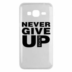 Чехол для Samsung J3 2016 Never give up 1