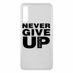 Чехол для Samsung A7 2018 Never give up 1