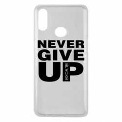 Чехол для Samsung A10s Never give up 1