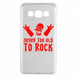 Чехол для Samsung A3 2015 Never old to rock (Gomer) - FatLine