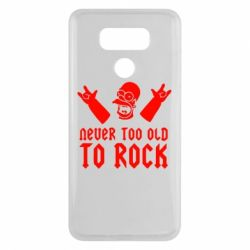 Чехол для LG G6 Never old to rock (Gomer) - FatLine