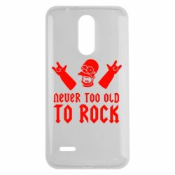 Чехол для LG K7 2017 Never old to rock (Gomer) - FatLine