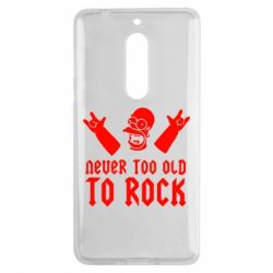 Чехол для Nokia 5 Never old to rock (Gomer) - FatLine