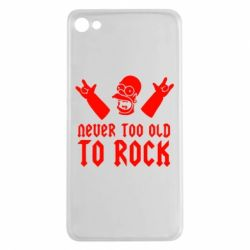 Чехол для Meizu U20 Never old to rock (Gomer) - FatLine