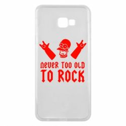 Чехол для Samsung J4 Plus 2018 Never old to rock (Gomer) - FatLine