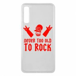 Чехол для Samsung A7 2018 Never old to rock (Gomer) - FatLine
