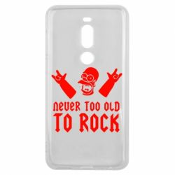 Чехол для Meizu V8 Pro Never old to rock (Gomer) - FatLine
